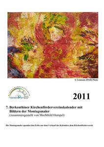 Kirchenfördervereinskalender 2011 - Deckblatt