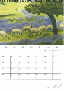 Tierkalender der Berkenthiner Montagsmaler 2013 - Juni