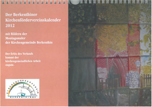 Kirchenfördervereinskalender 2012 - Deckblatt