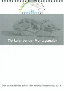 Tierkalender der Berkenthiner Montagsmaler 2013 - Deckblatt