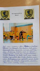Schülerbericht von der Schul- Safari
