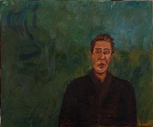 Selbstporträt..................Oel auf Leinwand...................50 * 60 cm............. 1998