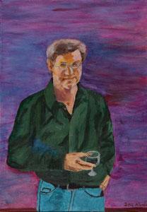 Selbstporträt ........................ Oel auf Leinwand.................50 * 70 cm.............2011
