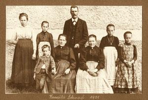 Familie Cherubin Schnarf um 1921