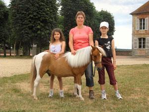 GT Vegas de Germigny avec Erell, Isabelle et Maïwenn
