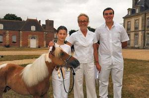 GT Vegas de Germigny, Maïwenn, Dominique Laloum (Présidente AFCM) et son fils