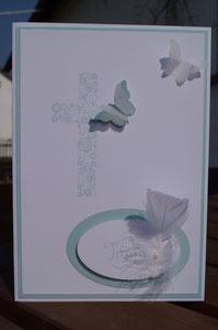 Karte zur Taufe - Junge