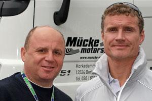 David Coulthard (ehemaliger Formel 1 und jetzt DTM-Fahrer)