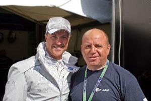 Ralf Schumacher (ehemaliger Formel 1 und jetzt DTM-Fahrer)