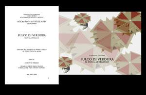 TESI DI CARLOTTA FERRARO A.A. 2008 - 2009