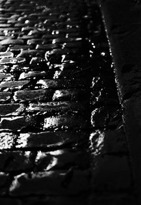 Nightly pavement (Cologne, Germany. 2008)