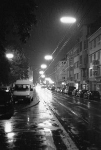 Waiting in rain (Cologne, Germany. 2007)