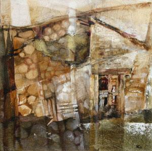 Cottage, Spinello 2007, olio su tela