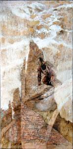 Zeno Colò, 1941 Cortina. 2012, 60x30, olio su tela.