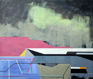 James Wallace Harris: Colony IV, 2014, 41 x 60 cm, Galerie SEHR Koblenz