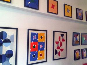 Galerie SEHR Juni 2015 Quadratur des Kreises von Ellen Roß