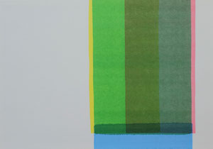 Dirk Rausch: ohne Titel, Aquarell auf Aquarellpapier, 18 x 25 cm, 2016