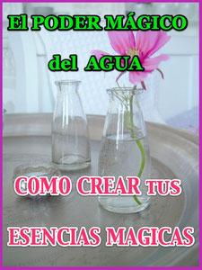 Usa el poder mágico del Agua y crea tus esencias mágicas
