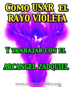 Como usar el Rayo Violeta