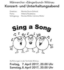 Fotos Hauptprobe / Konzert 2017