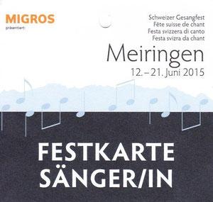Fotos Gesangfest Meiringen 2015
