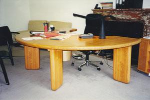 bureau en acacia sur mesure