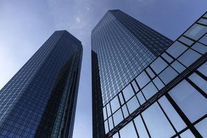 Türme der Deutschen Bank Frankfurt