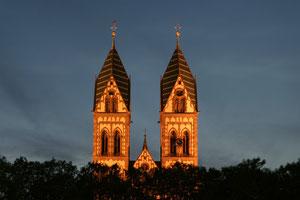 Türme der Herz-Jesu-Kirche