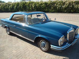 Mercedes 220 Coupe W111 SOLD !!!