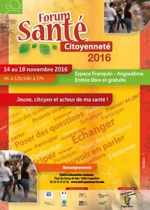 Forum Santé Citoyenneté - Centre information Jeunesse Angoulême