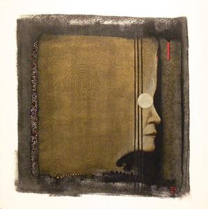 Profile III / 2015 / 40 x 40
