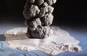 L'explosion qui a creusé l'île et recouvert Acrotiri