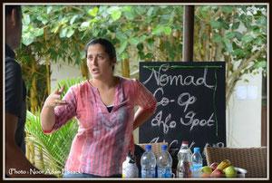 Stand Nomad Coop, Eco school pour petits et grands