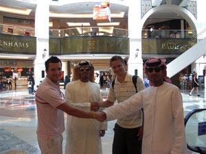 Mit den Scheichs in Dubai
