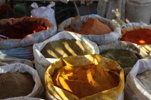 Gewürzmarkt in Zagora