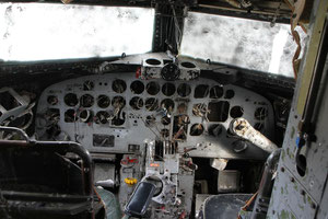 museales Flugzeugwrack