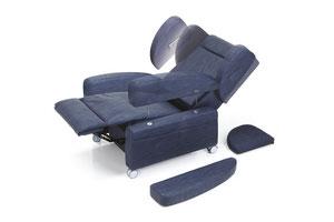 Poltrona Modello Valery Relax Ortopedica Alzapersona Reclinabile Anziani Disabili