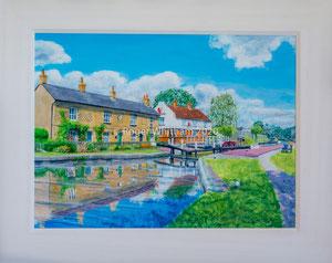 """Fenny Stratford"" Acrylic £175   16 x 12 plus frame width"