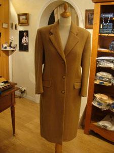 Manteau 100% poil de chameau
