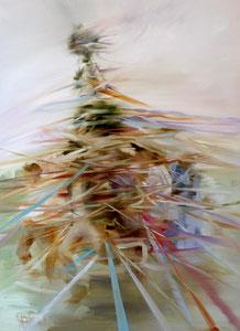Stray Green, Post May 2020 Öl auf Leinwand 85 x 110 cm
