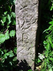 Armsäule aus dem Jahre 1725 - Inschriften
