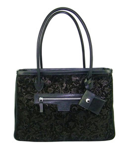 maroquinerie française, sac à main artisanal, luxe, sac fabrication française, sac haut de gamme, made in France, sac fait main, cabas cuir noir artisanal, cabas cuir peine fleur, artisan du cuir, cuir made in France
