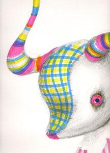 chimera/rainbow horn