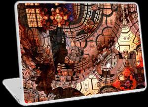 Fraktale Laptop Skins - 3D Mandelbulb