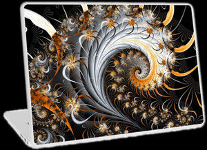 Fraktale Laptop Skins - Spirale