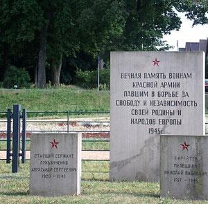 sowjetisches ehrenmal, zehdenick, foto 1