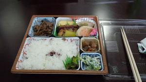 JA亀岡の講演後 美味しいお弁当☆