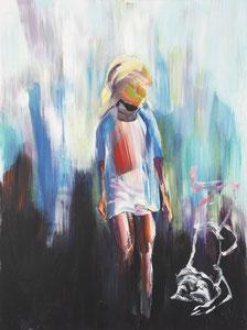 Alles Ist Gut (Spielen) 60*80 cm, Acryl auf Leinwand, 2020