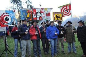 Die Bechergewinner der Sektion Anderhalden. (Bild: Urs Hanhart / Neue UZ)