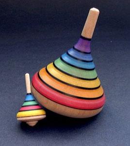 Regenbogenkreisel von Klaus Mader